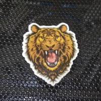 Sticker Decal Die Cut Indoor Harimau Roar