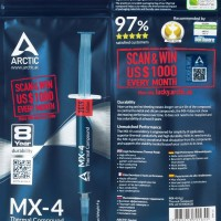 ARCTIC COOLING MX4 4GR HIGH PERFORMANCE THERMAL PASTE