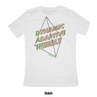 DAH WHITE SHIRT (Dynamic,Adaptive,Humble)