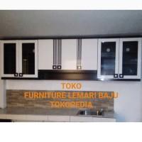 Kitchen set atas 7 pintu ukuran 276cm