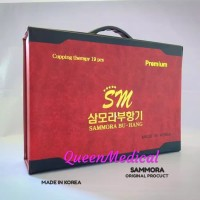 Alat Bekam Sammora Merah isi 19 Made in Korea Kop Bekam