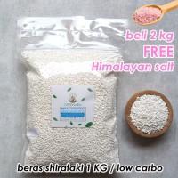 beras shirataki rendah kalori 1 KG / low carbs shirarataki