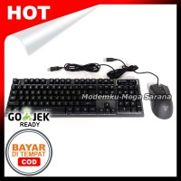 Fantech Keyboard & Mouse Combo Gaming KX-301 SERGEANT