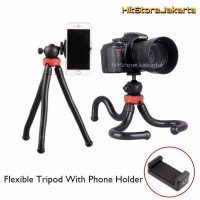 Flexible Tripod Mirrorless DSLR Action Cam Monopod Tongsis Tripod Sm