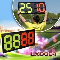Papan Pergantian pemain Sepak bola Exchange Board Futsal In Out LX08-1