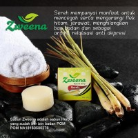 BARU Zweena Natural Soap Sereh Sabun Herbal ber BPOM Promo