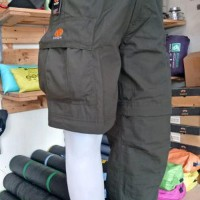Celana panjang cargo PDL Boogie sambung Not eiger alpina avt