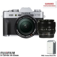 Harga fujifilm xt20 mirrorless digital camera with 1855mm xf 35mm | Pembandingharga.com