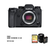 Harga fujifilm xh1 mirrorless digital camera body only xf 56mm | Pembandingharga.com