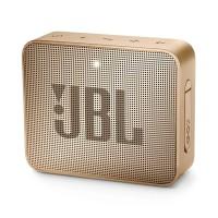JBL GO 2 Bluetooth Portable Speaker - Champagne