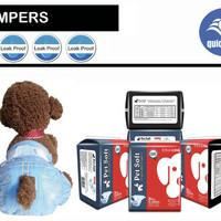 Popok Anjing/Pet Diapers size L isi 8pcs