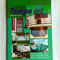 buku katalog tralis pagar majalah tralis TEMPA ART