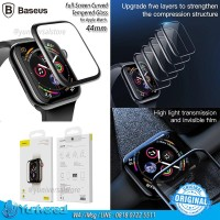 Baseus Apple Watch 44mm Full Curved Coverage Tempered Glass 0.3mm