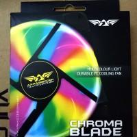 Fan Casing ARMAGGEDDON CHROMA Blade 12cm 4 Color dgn 16 LED