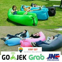 Lazybag Lazy Bag Airbed Air Sofa Bed Kasur Angin Portable Portabel