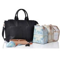 Pacapod Diaper Bag - CROYDE (Black)