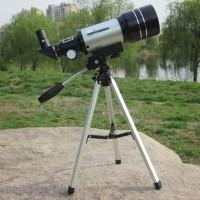 Teropong bintang jauh astronomi Space star monocular 70mm dan tripod