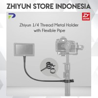 Zhiyun 1/4 Thread Metal Holder with Flexible Pipe