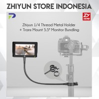 "Zhiyun 1/4 Thread Metal Holder + Trans Mount 5.5"" Monitor Bundling"