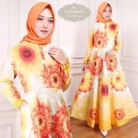 Maxi Emma (42) Sun Baju Muslim Wanita Gamis Model Kekinian Terbaru