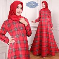 Gamis Maxi Emma (97) Baju Muslim Wanita Gamis Model Kekinian Terbaru