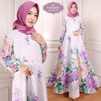 Gamis Maxi Emma (86) Baju Muslim Wanita Gamis Model Kekinian Terbaru