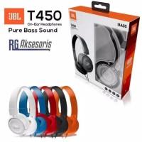 a3de33f1cdc [ JBL -ON EAR T450 OEM ] Headphone JBL / Headset JBL PURE BASS