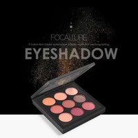 KHUSUS -01- FOCALLURE NINE COLOUR - 9 COLORS IN 1 EYESHADOW FA-36