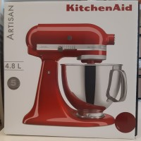 KitchenAid Artisan Series 5-Quart Stand Mixer 5KSM125 Empire Red