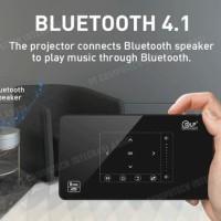 P10 MINI SMART proyektor DENGAN OS ANDROID MARSHMALLOW - Hitam