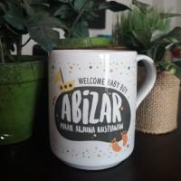 Mug Nk handle new welcomming baby