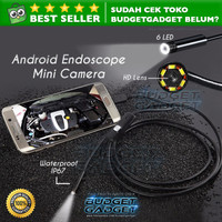 Android 7mm 4cm Focal Distance Endoscope Camera 720P IP67 Waterproof