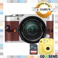 Harga fujifilm fuji x a3 xa3 kit 16 50mm kamera mirrorless brown   Pembandingharga.com