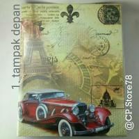 Album foto 4R/200 hitam cover kendaraan