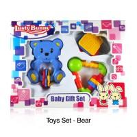 TERJAMIN Lusty Bunny Baby Gift Set Toys 3in1 / Mainan Bayi Lucu, JADD