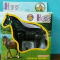 KUALITAS SUPER Mainan anak kuda berlari JMNO