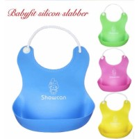 Best Quality babyfit slabber silicon kalung mutiara slabber bayi