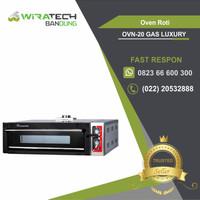 Oven Roti Gas Luxury 1 Deck 2 Trays - Oven Roti Gas