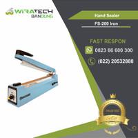 Mesin Hand Sealer FS-200-Iron / Mesin Press Plastik Sealer