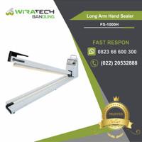 Long Arm Hand Sealer FS-1000H - Alat Press Plastik Sealer