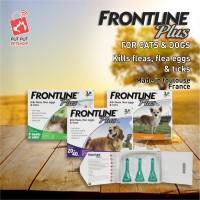 FRONTLINE PLUS DOG S Obat Tetes Kutu anjing 2-10kg jual satuan tube