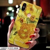 Note7 Mi X3 Van Gogh Bunga Matahari Sayuran Lapangan Minyak Lukisan