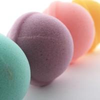 UCHII Bath Sponge Colorful Lollipop Spons Busa Mandi Cuci Eco