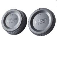 Body cap & Lens Rear Cap Cover Nikon tutup body lensa