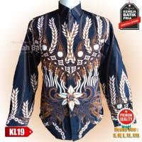 Baju Batik Kemeja Motif Sragen