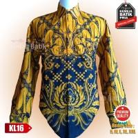 Kemeja Batik Cowok Sragen Style