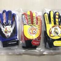 Harga promo sarung tangan kiper anak junior logo klub kualitas   Pembandingharga.com