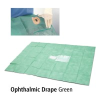 Ophthalmic Drape Green Onemed