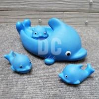 Lumba Cit 4in1|Ikan Lumba Karet Bunyi Cit Isi 4|Mainan Mandi Encit