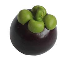 Buah Artificial Import/ Buah hiasan Real Touch-Manggis